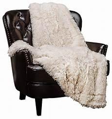 chanasya shaggy longfur faux fur throw blanket fuzzy