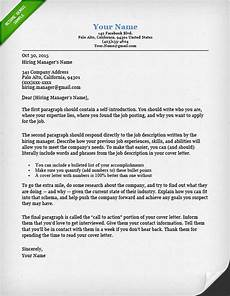 Cove Letters 40 Battle Tested Cover Letter Templates For Ms Word