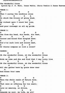 At The Cross Chord Chart The Wonderful Cross Chris Tomlin Piano Music Google