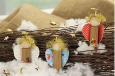 weihnachtsgeschenke basteln ideen engelchen deko