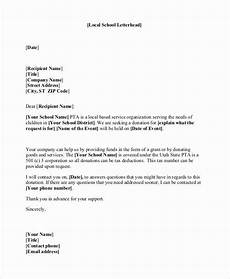 Sample Of Letter Of Solicitation For Donation 40 Sample Letters Asking For Donations Donation Letter