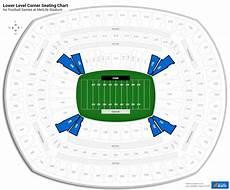 Metlife Virtual Seating Chart Lower Level Corner Metlife Stadium Football Seating