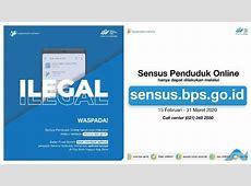 Sensus Penduduk 2020: Pastikan Isi Data di sensus.bps.go