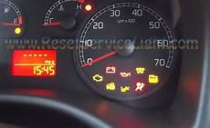 Fiat Punto Airbag Warning Light Stays On Reset Airbag Indicator Fiat Punto Reset Service Light