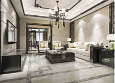 classic modern luxury living room with tv 3d