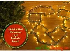Trade In Christmas Light For Led Lights Home Depot Christmas Light Trade In 3 5 Off Led