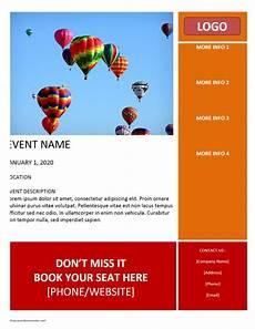 Microsoft Templates Flyer Event Flyer Template
