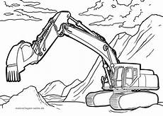 malvorlagen bagger traktor in 2020 malvorlagen