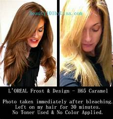 Loreal Frost And Design 2 Packets Of Lightening Powder Diy At Home Natural Hair Lightening Amp Color Removal