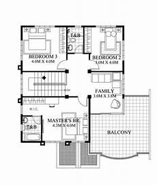 mhd 2012005 second floor plan house designs