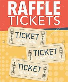 Raffle Ticket Poster Ideas 21 Printable Raffle Ticket Templates Psd Ai Word