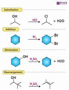 Organic Reactions Various Types Of Organic Reactions Polar And Radical