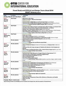 itinerary format 10 travel calendar examples free word pdf excel format