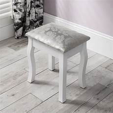 white dressing table mirror and stool set dresser ebay