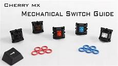 Mx Switches Chart Cherry Mx Mechanical Switch Guide Youtube