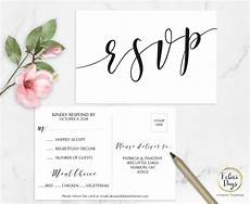 Rsvp Cards Examples 15 Rsvp Card Designs And Examples Psd Ai Examples
