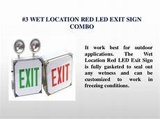 Location Exit Light Combo What Are The 5 Most Popular Emergency Light Exit Sign