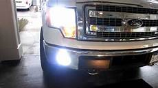 2014 Ford F150 Hid Fog Lights How To Install Hid Fog Lights H10 Ford F150 2014 Youtube