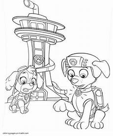 paw patrol coloring pages at getcolorings free