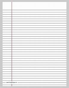 College Ruled Paper Template Lined Paper Template Free Amp Premium Templates