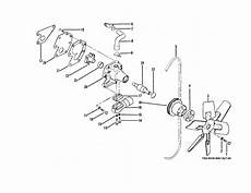 Figure 7 33 Water Pump And Fan Assembly Disassembly And