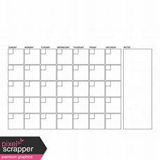 A4 Calendar Template Blank Calendar Template A4 Graphic By Marisa Lerin