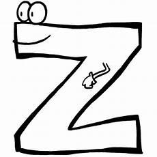 Buchstaben Malvorlagen Quiz Kostenlose Malvorlage Buchstaben Lernen Buchstabe Z Zum