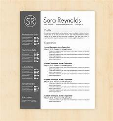 Designer Cv Template Resume Template Cv Template The Reynolds By Phdpress