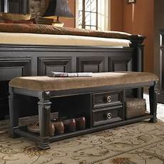 pulaski brookfield bed end bench in finish 993400