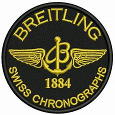 embroidery patches embroidery patch breitling swiss chronographs 1884 d 8cm