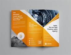 3 Column Brochure Pearl Professional Tri Fold Brochure Template 001202