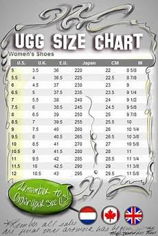 Ugg Robe Size Chart Ugg Womens Size Chart Flickr Photo Sharing