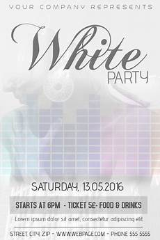 Free All White Party Flyer Template Copy Of White Party Flyer Template Postermywall