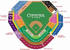 Detroit Tigers Seating Chart With Rows Positive Detroit Detroit Tigers Announce All You Can Eat
