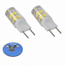 2 Prong Mini Light Bulb Hqrp 2 Pack G8 Bi Pin 17 Leds Light Bulb Smd 2835 Cool