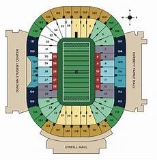 Notre Dame Stadium Seating Chart View Ticket Prices And Seating Info For The 2019 Notre Dame