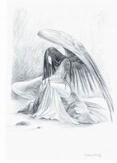 Drawing Of Angel Wings 8 Best Images Of Pencil Drawings Of Angels Beautiful