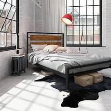 carbon loft banting 54 inch size metal bed black