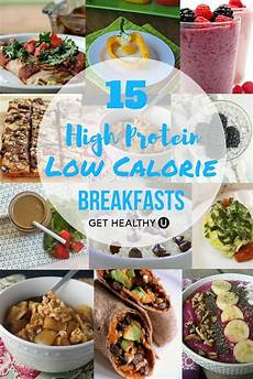 15 high protein low calorie breakfasts
