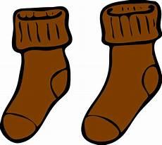 brown sock clip at clker vector clip