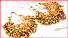 Earrings Design Images Gold Earring Designs With Weight And Price Youtube