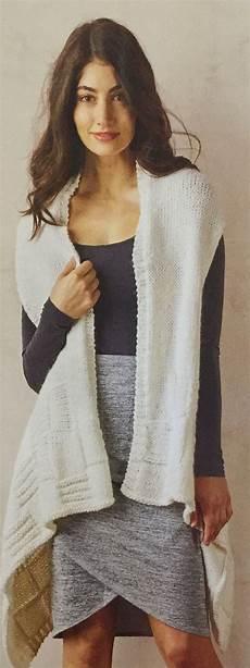 knitting moda biscay sleeveless jacket knitted cardi spotlight easy as