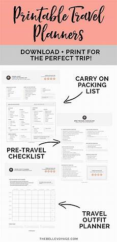 Printable Packing List Printable Ultimate Packing Checklist For Travel The