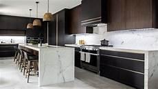 house tour luxe dark modern kitchen youtube