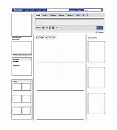 Free Facebook Templates Blank Facebook Template 12 Free Word Ppt Amp Psd