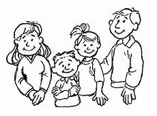 happy family coloring page at getcolorings free