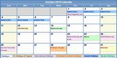 October 2015 Calendar Word October 2015 Calendar Events In This Post We Re Sharing