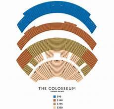 Caesars Palace Concert Seating Chart Caesars Palace Seating Chart Colosseum Seating