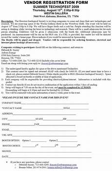 Vendor Registration Form Template Application Form Application Form Template Emea