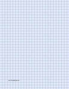 Light Blue Graph Paper Printable Graph Paper Light Blue Three Quarter Inch Grid